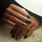510 UV Nail Polish MAGA Black Pearl