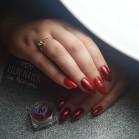 Glittery Red
