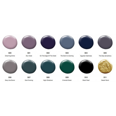 Lakiery hybrydowe kolory UV 500 - UV 511