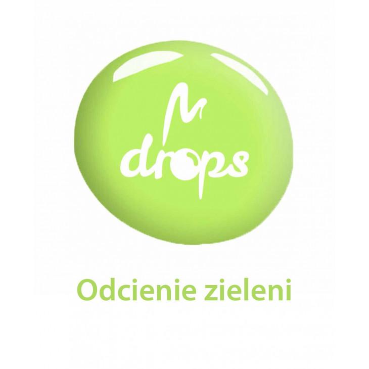 Lakiery DROPS zielone