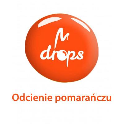 Lakiery DROPS pomarańczowe