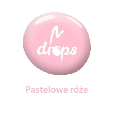 Pastel pink DROPS nail polish