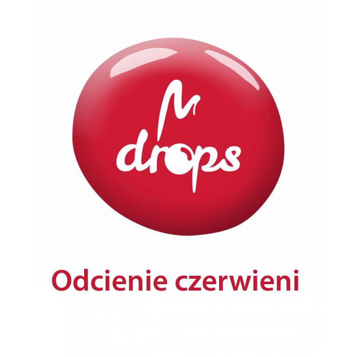 Red DROPS nail polish