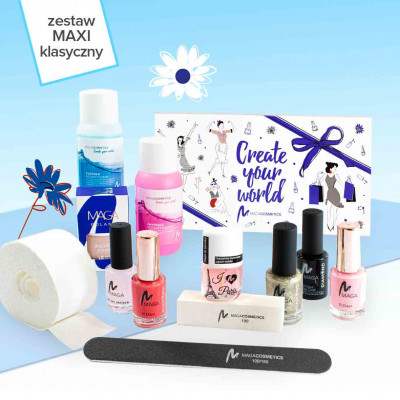 Premium Set for manicure with nail polish