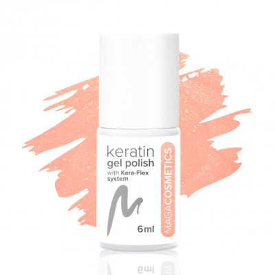 Miss Sandy Keratin Gel Polish No. 1L MAGA