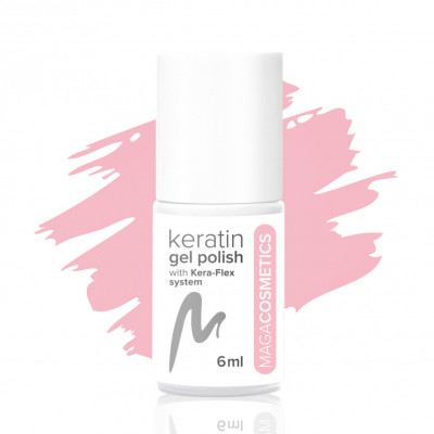 Pink in my head keratin gel polish No. 2L MAGA