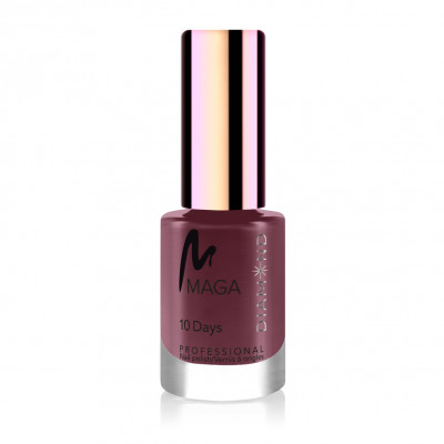 Nail polish 10 days Bordo...