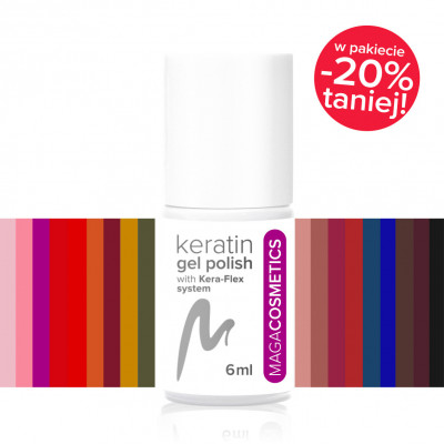Set of keratin nail gel...