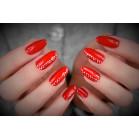 410 UV Nail Polish MAGA Fiery Red